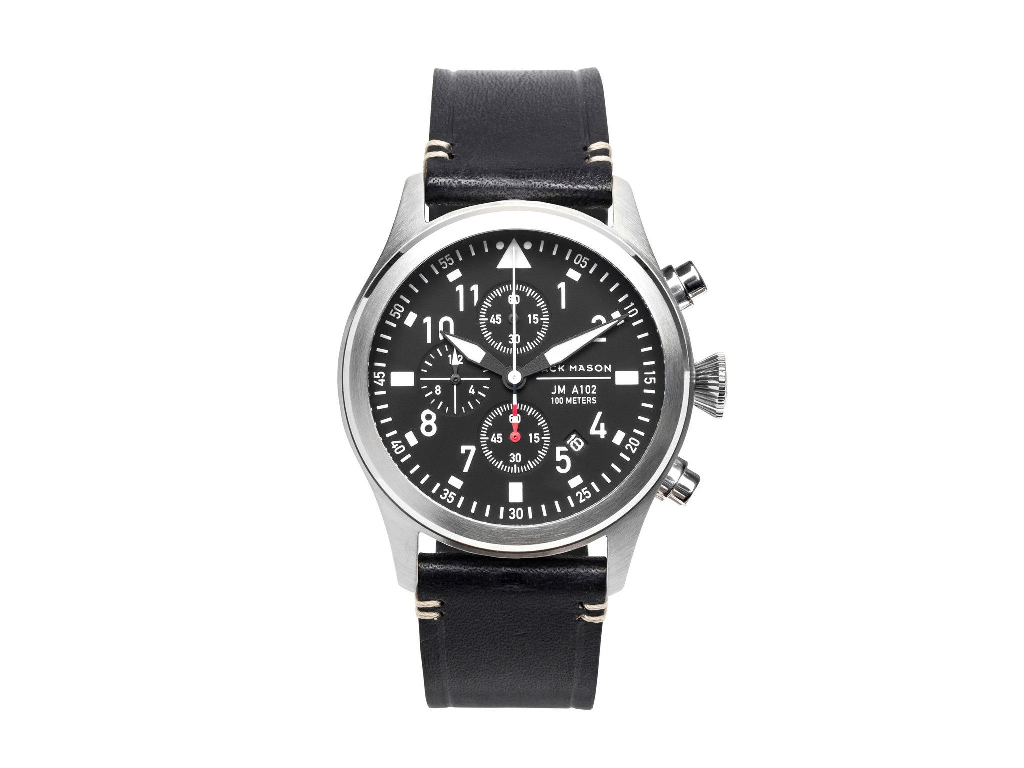 Jack Mason Brand JM-A102-015 Aviator Chronograph Watch