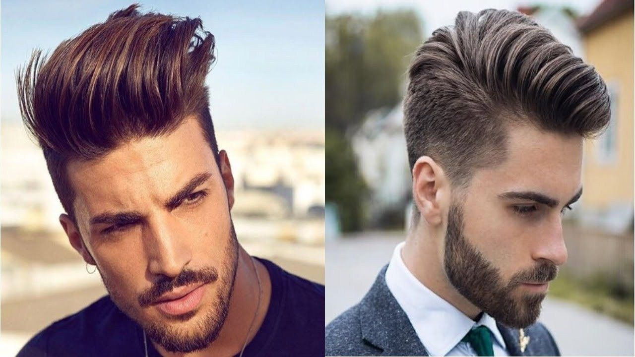 2018 haircut for men  pompadour hairstyle  hairstyles  pompadour and pompadour