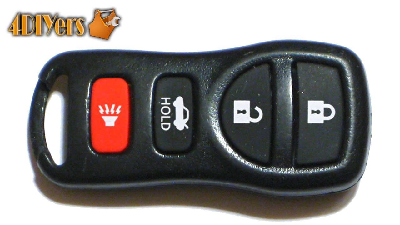 Cool How To Change Battery Diy Nissan Keyless Remote Battery