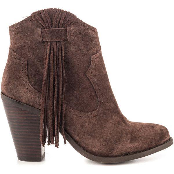 13de628cf9c3 Jessica Simpson Women s Colver - Fudge Split Suede ( 103) ❤ liked on Polyvore  featuring shoes