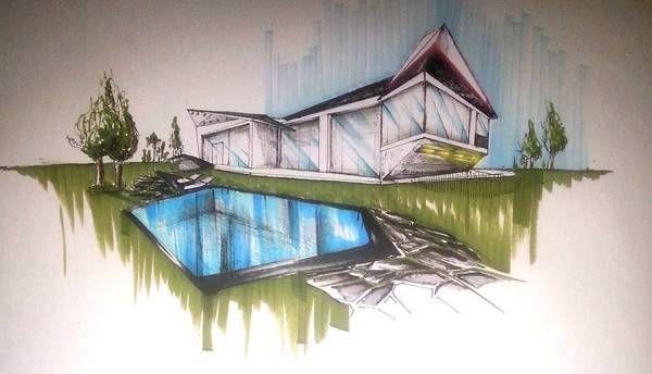 Sketchy Saturday | 025 - http://landarchs.com/sketchy-saturday-025/