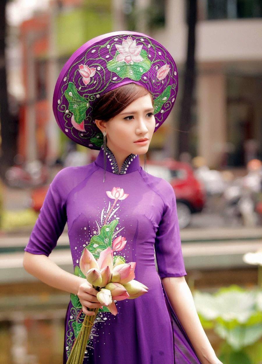 Áo Dài Việt Nam | Áo dài, Thời trang, Người mẫu nữ