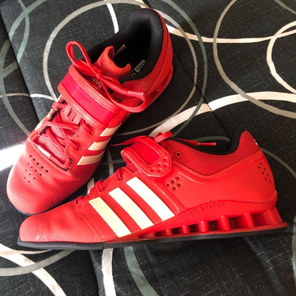 Adidas Adipower weightlifting red/white
