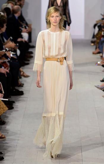 sí quiero': 10 vestidos de novia sobre la pasarela - alexander