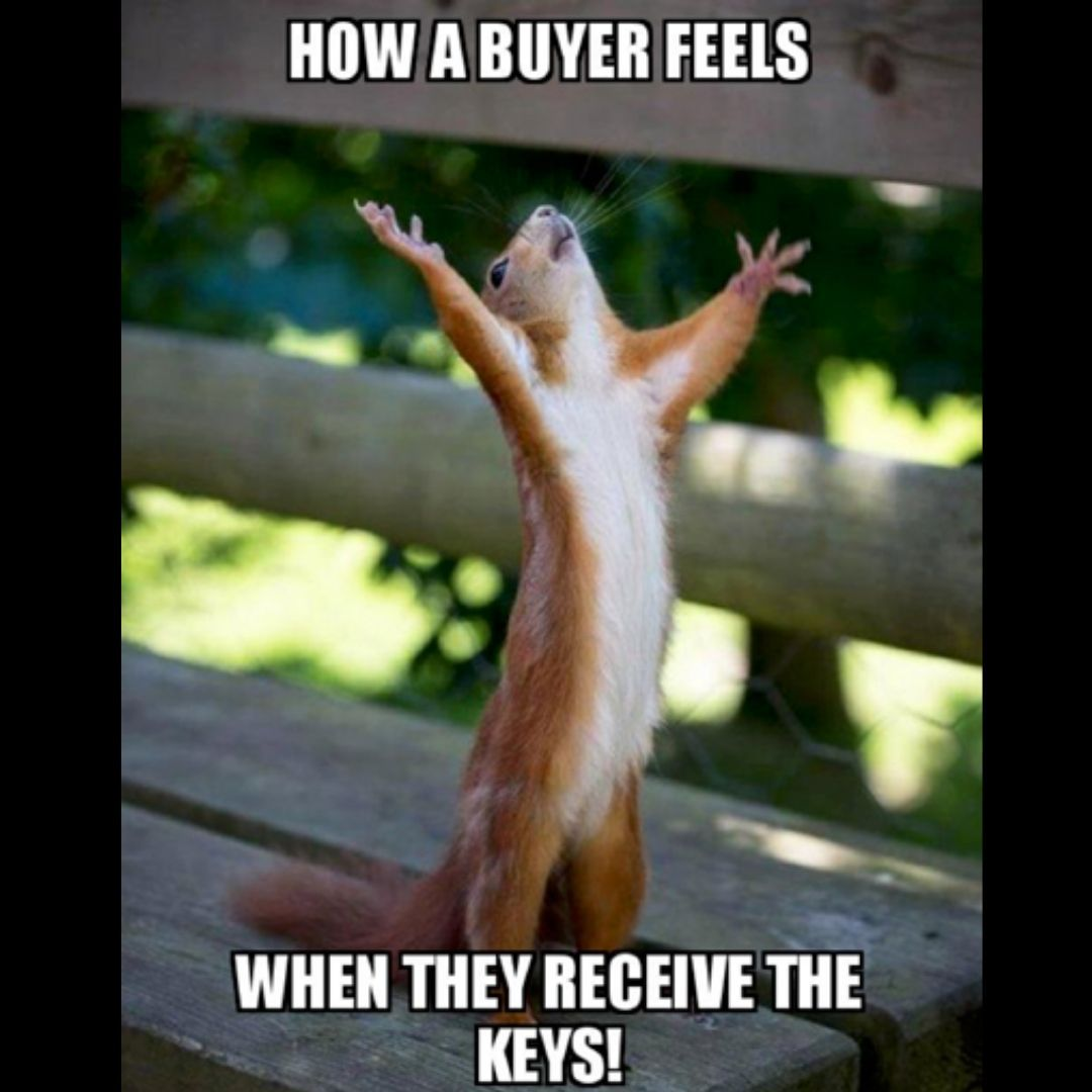 How A Buyers Feels When They Receive The Keys Birthday Meme Mom Memes Funny Memes About Girls