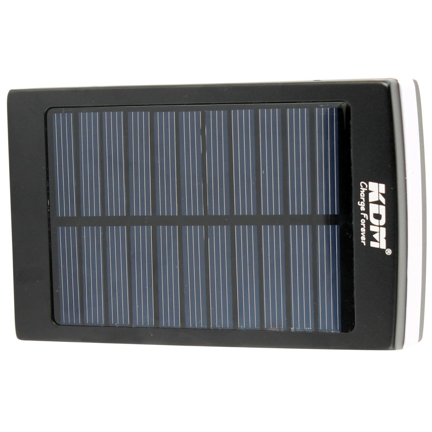Kdm 13000 Mah Solar Power Bank 5v 1a External Mobile Battery Charger Pack Solar Battery Bank Solar Battery Solar Power Bank