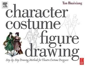 Drawing characters in costume.