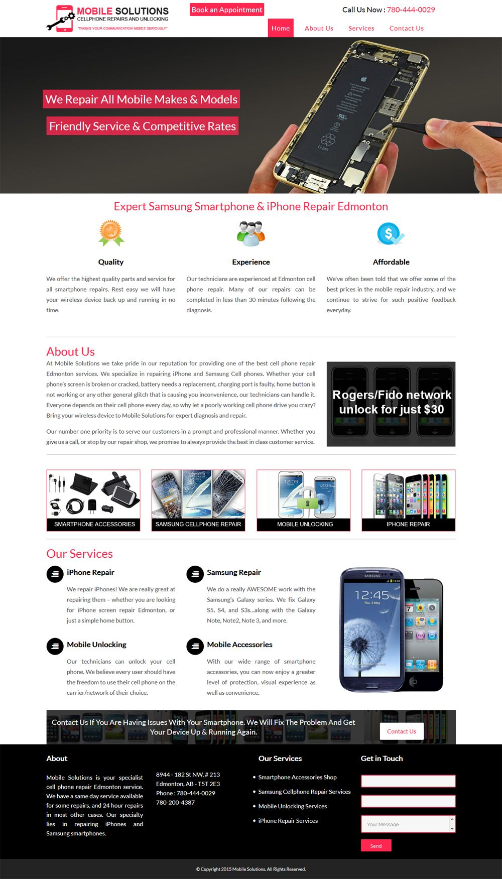 Web Design Portfolio By Brampton S Top Website Developers Portfolio Web Design Web Design Portfolio Website Design