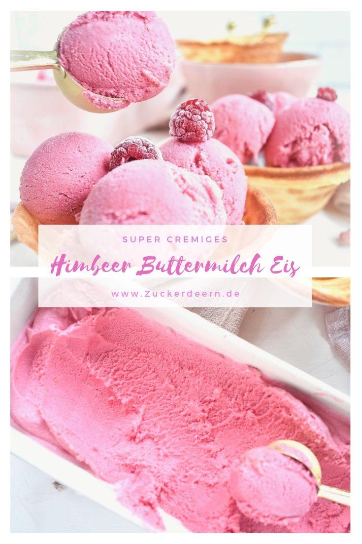 Photo of Raspberry Buttermilk Ice Cream