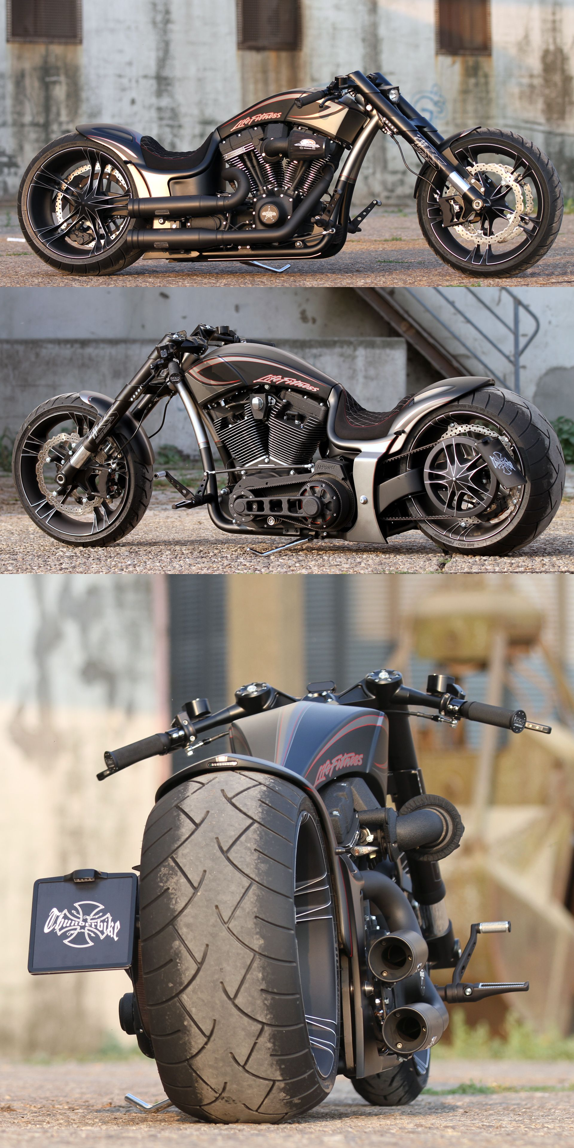 Thunderbike Dragster RSR custom motorcycle