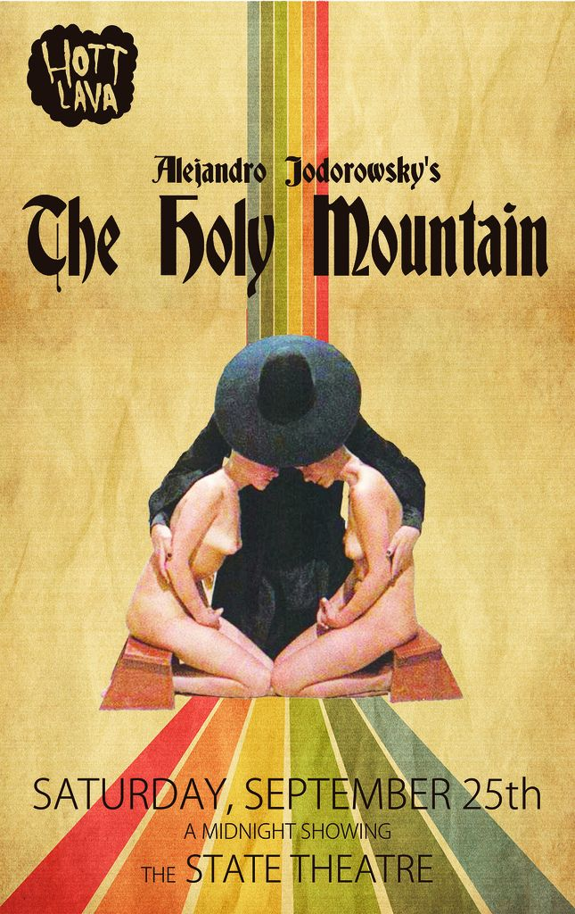 The Holy Mountain' (1973) | Films in 2019 | Film posters, The holy