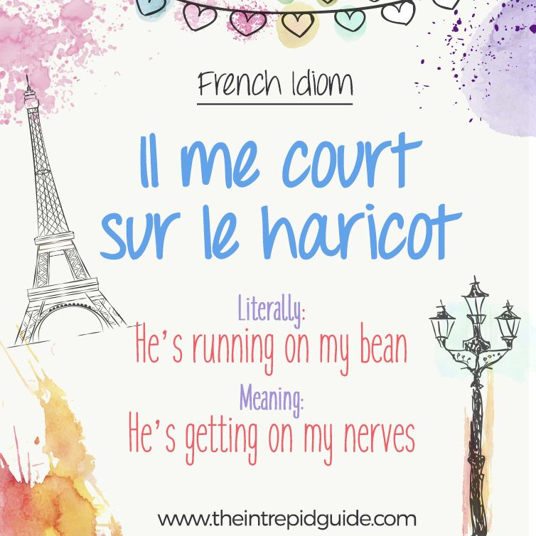 25 Funny French Idioms Translated Literally That You Should Use Learn French French Expressions Teaching French