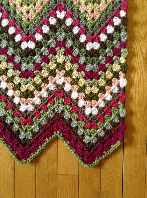 Granny Ripple Afghan – free pattern | Pinterest | Häckeln