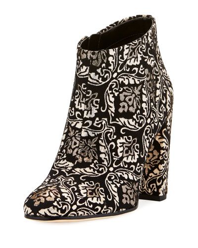 178208b1013b7d X3WRT Sam Edelman Cambell Damask Ankle Boot
