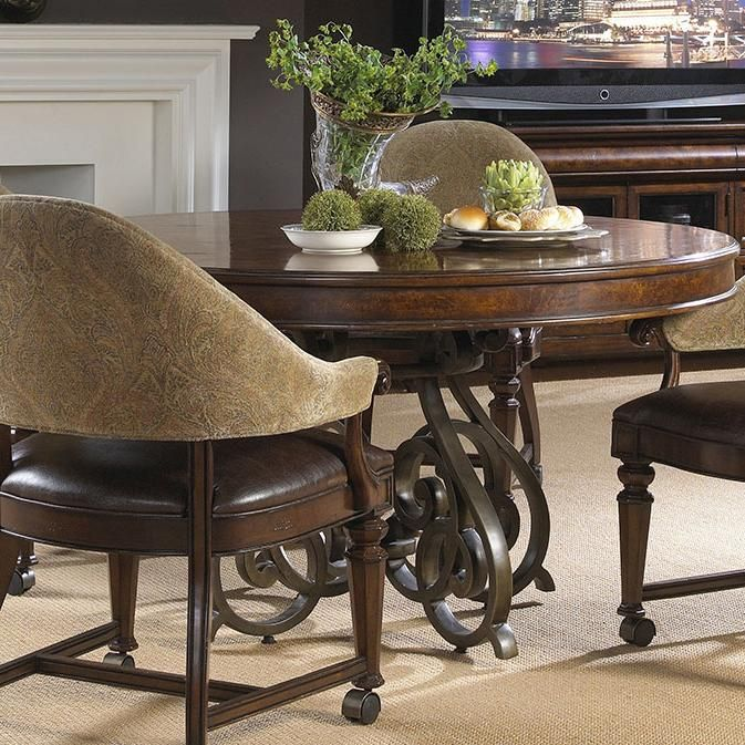 Highlands Round Game Table by Fine Furniture Design