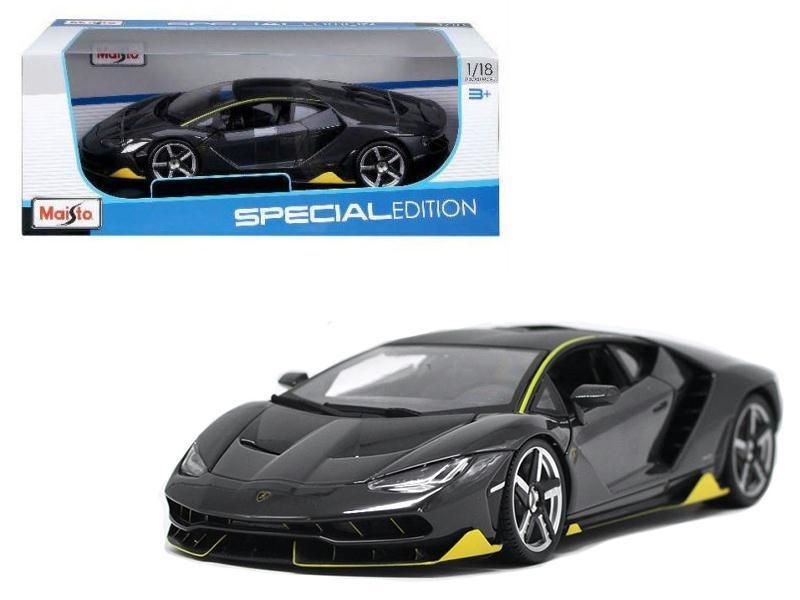 Nice Great Lamborghini Centenario Grey 1/18 Diecast Model Car by ...