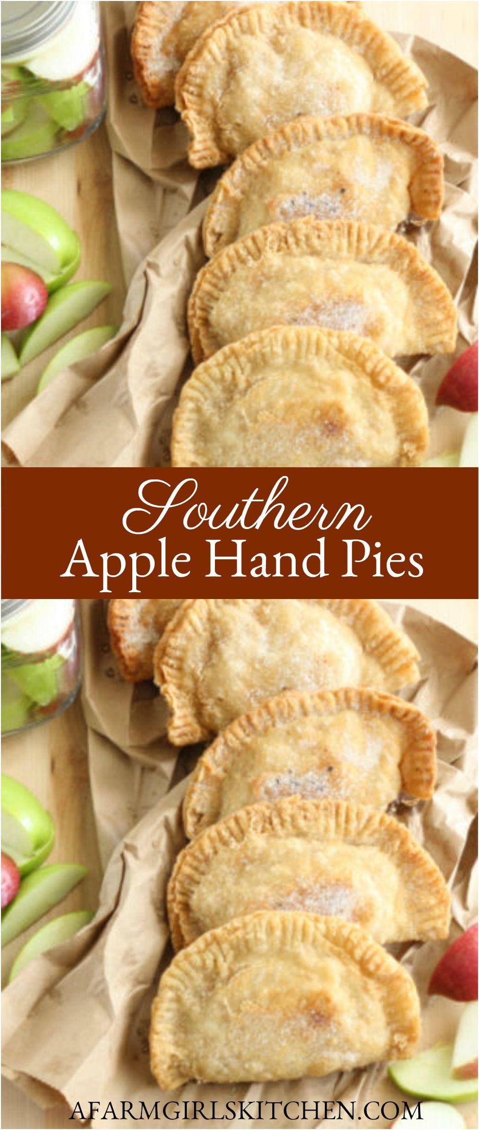 BEST Fried Apple Hand Pies