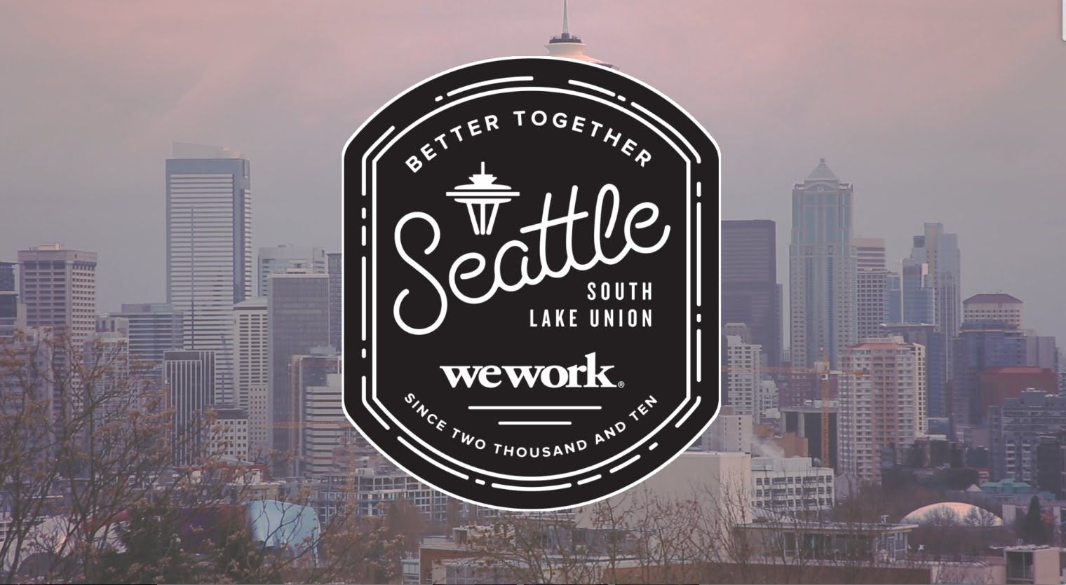 Seattle Map Lake Union%0A we work seattle logo image  Google Search