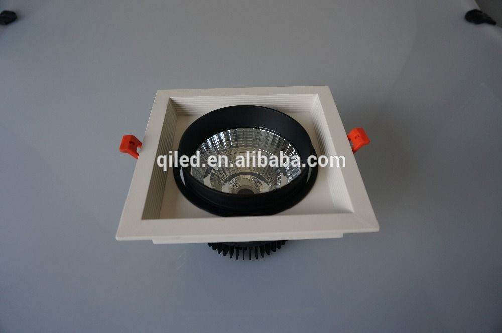 hot sale one Head 30w high power Commercial Recessed LED COB Grille
