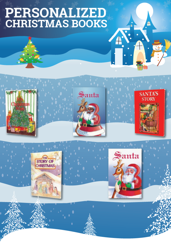 personalized christmas books your child can be the star in these personalized books