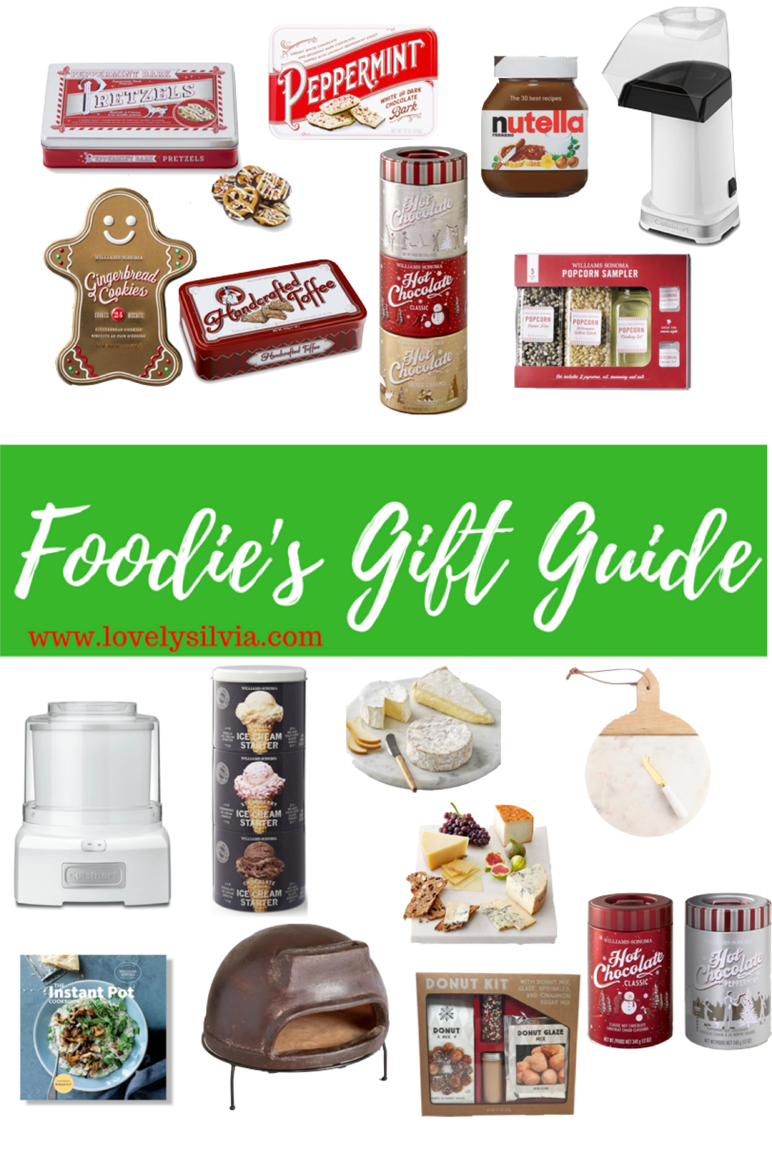 Food lovers christmas gifts