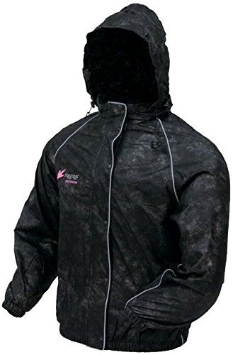 Frogg Toggs Womens Sweet T Rain Jacket Black Large * You can get additional details at the image link.