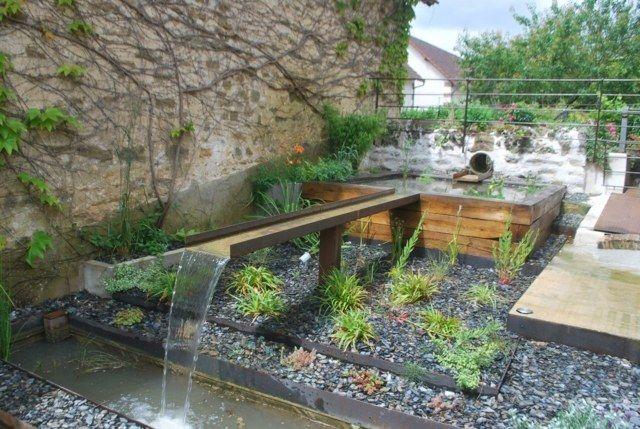 Ammenager jardin 250m2 recherche google bassin for Jardin japonais yvelines