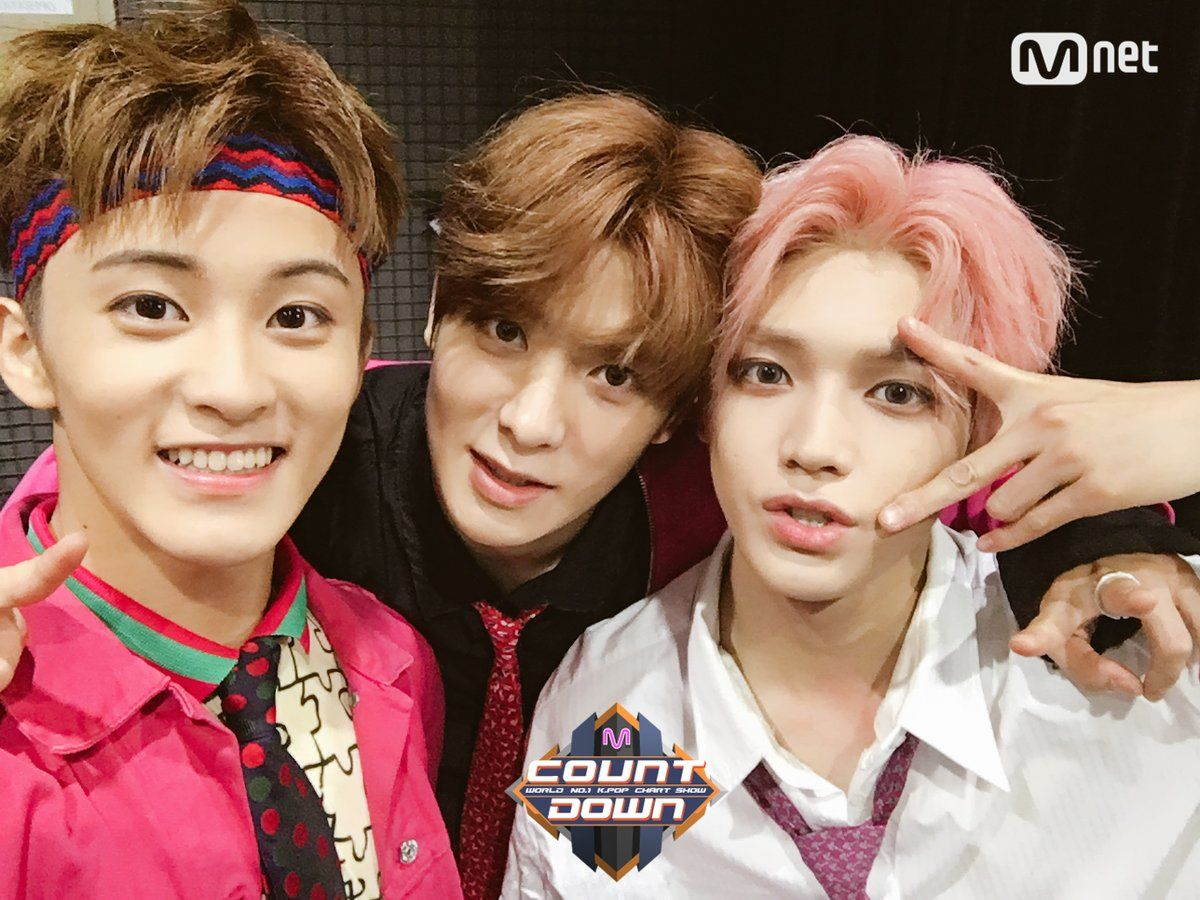M COUNTDOWN on | NCT/SMROOKIES | NCT, Nct taeyong, Jaehyun