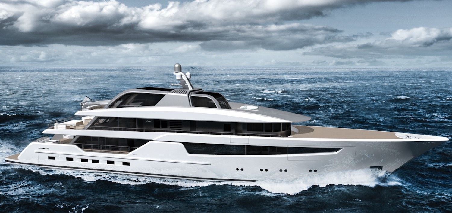 Vitrum By Gianmarco Cardia For Lurssen Yachts With Images