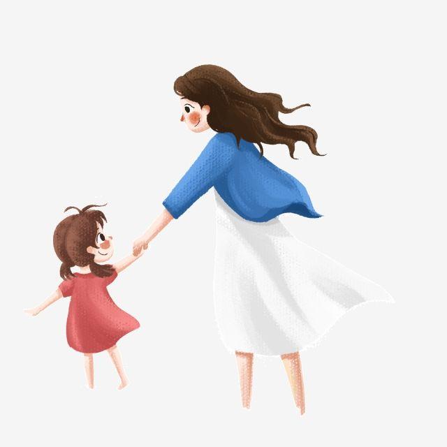 Gambar Bayi Perempuan Kartun Png