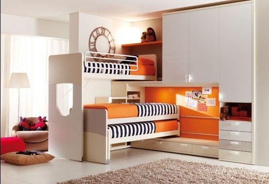 Camerette le 5 pi diffuse soluzioni salvaspazio per i letti camerette pinterest search - Soluzioni per camerette ...