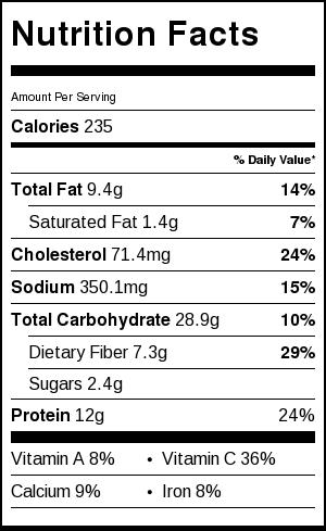 Quick Shrimp Ceviche Fresh Fit Kitchen Recipe Nutrition Facts Nutrition Recipes