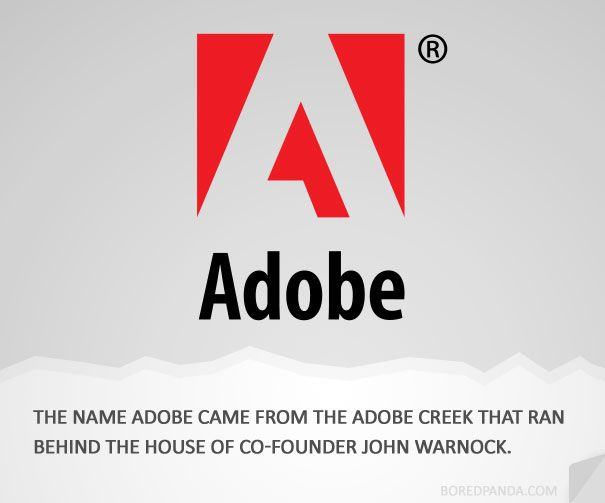How Famous Companies Got Their Names Famous Brands Logos