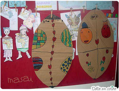 Escudo Masai Masai Shield Infantil Proyectos Africanas