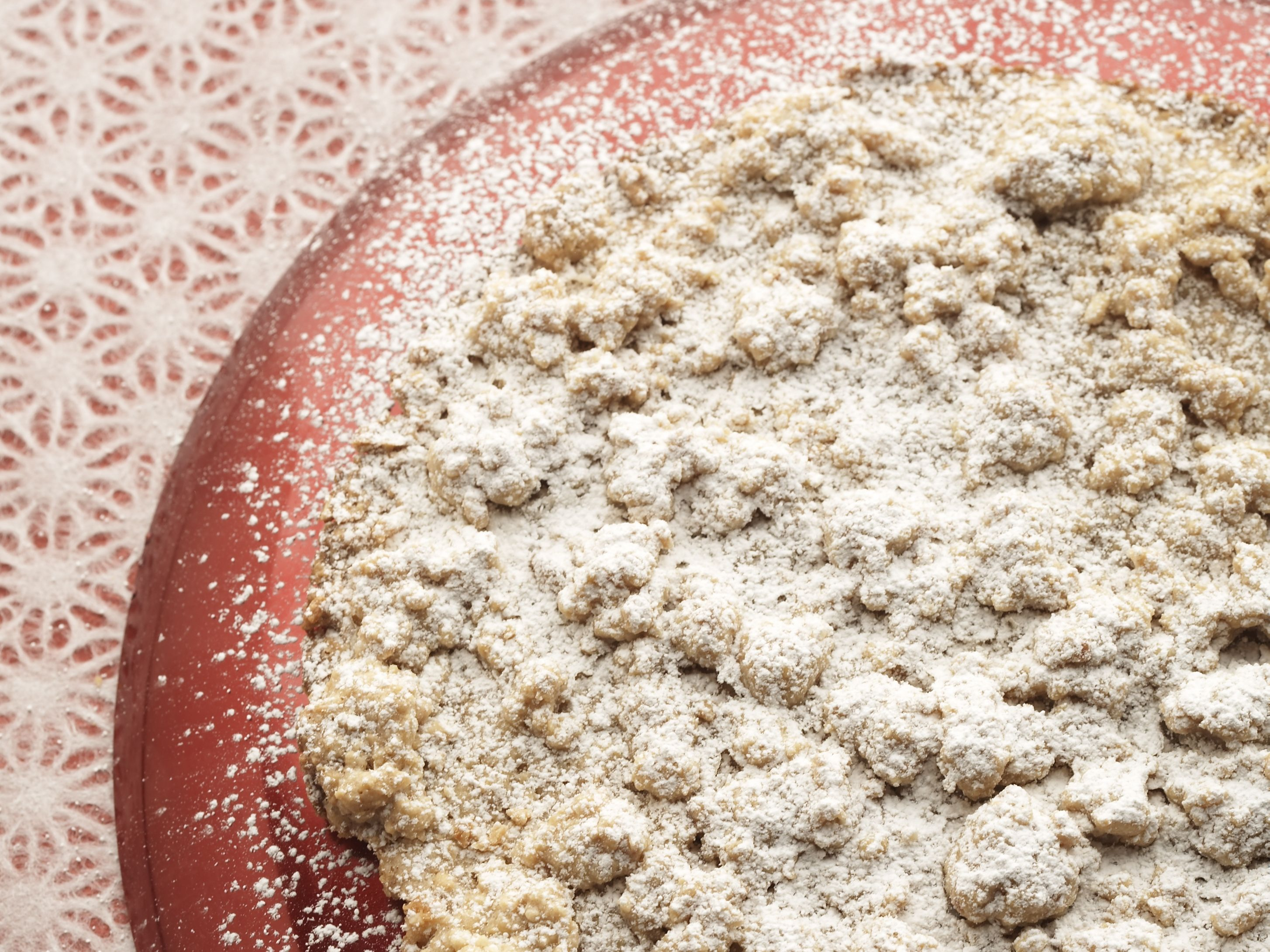 Fregolata: Crumb Cookie (Italy) from FoodNetwork.com baked in very ...