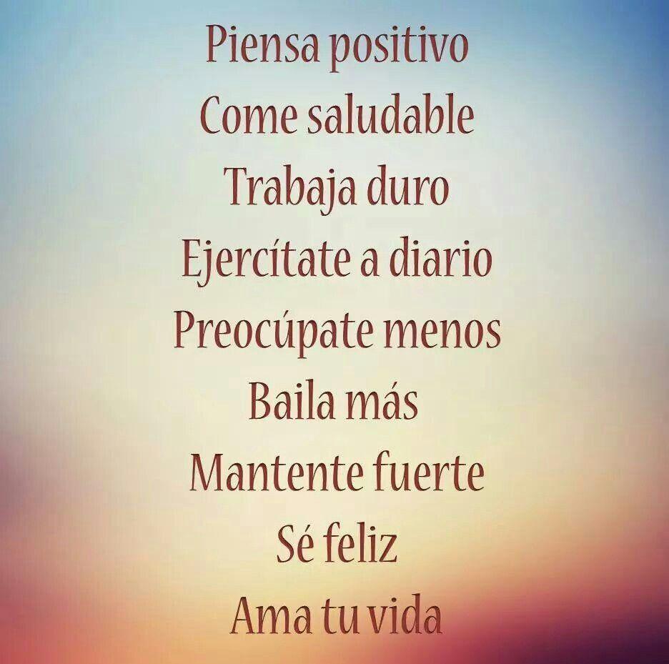 Citas en español :) | Mensaje de motivacion, Frases de la