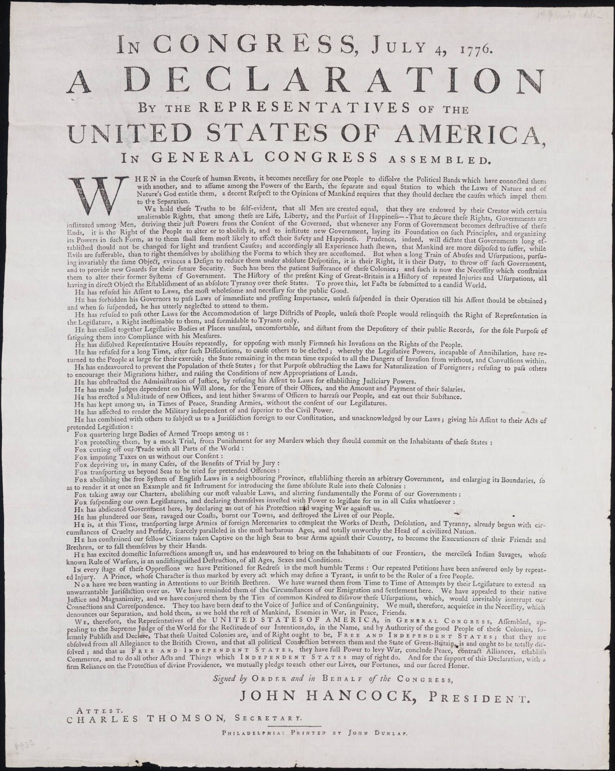 have americans lived up to the ideals expressed in the declaration of independence essays and term p The declaration of independence expresses the american dream ittalks about freedom, and the ability of a man, or a country, tomake his own way in the world.