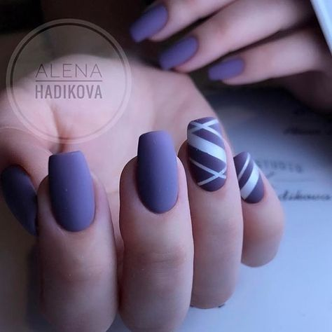 Manicures Nail Design Color Art Designs Purple Funky Trendy Beautiful Gorgeous Nails