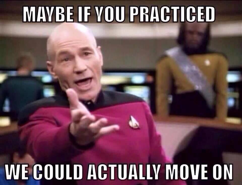 To All The Piano Students Out There Who Don T Practice Maybe If You Practiced You Could Actually Move On In Your Mus Teacher Memes Classroom Memes Dance Memes
