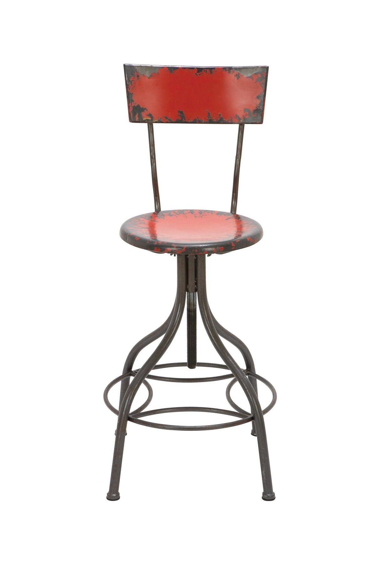 Red Metal Bar Chair on HauteLook