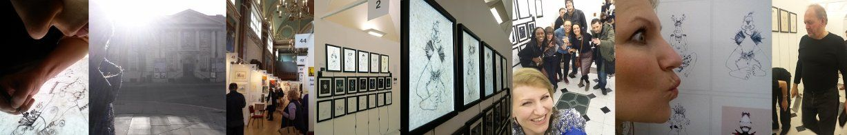 Rigulio Graak, The Android Series at London Chelsea Exhibition