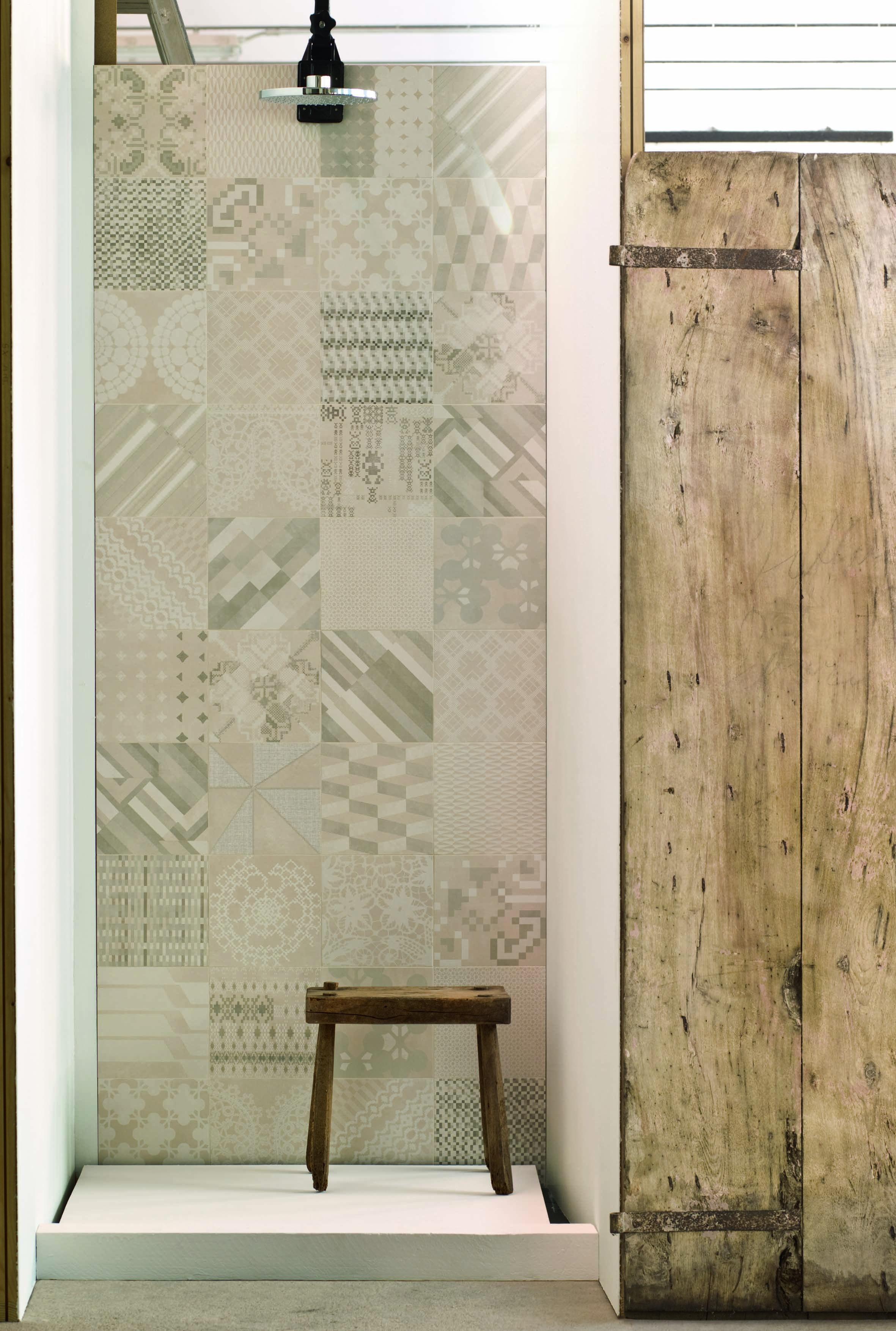 appealing bathroom decoration | Bathroom design ideas: Eye-catching tiles for a visually ...