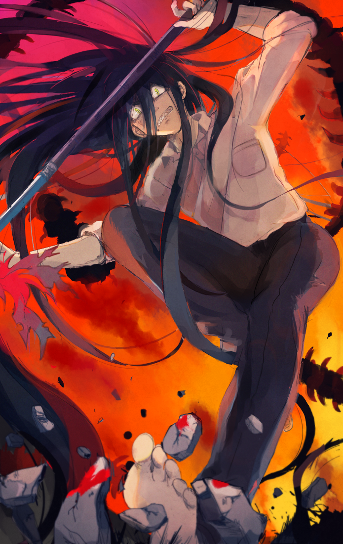 Ushio to Tora Anime, Anime drawings, Drawings