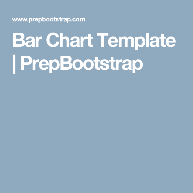 Bar Chart Template  Prepbootstrap  Free Bootstrap Themes