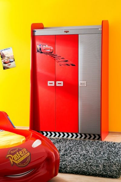 Kleiderschrank Cars, 127 x 210 cm | Kinderzimmer Cars | Pinterest ...