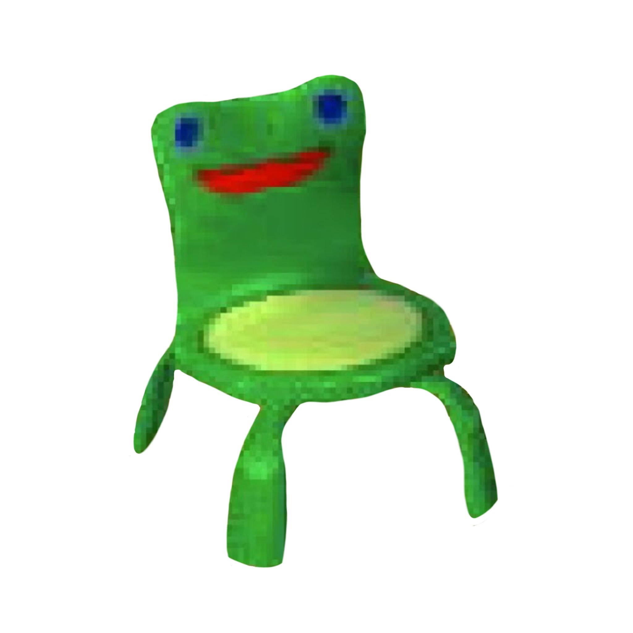 Animal Crossing Froggy Chair Png Polyvore Frog Green Animal Crossing Animal Crossing Game Frog And Toad