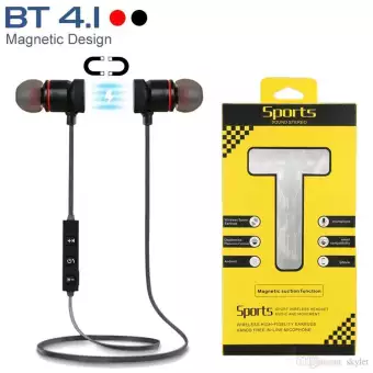Magnetic Bluetooth Wireless Stereo In Ear Sports Handsfree Earphone M5 Buy Online At Best Prices In Pakistan Daraz Pk Handsfree Earphone Bluetooth