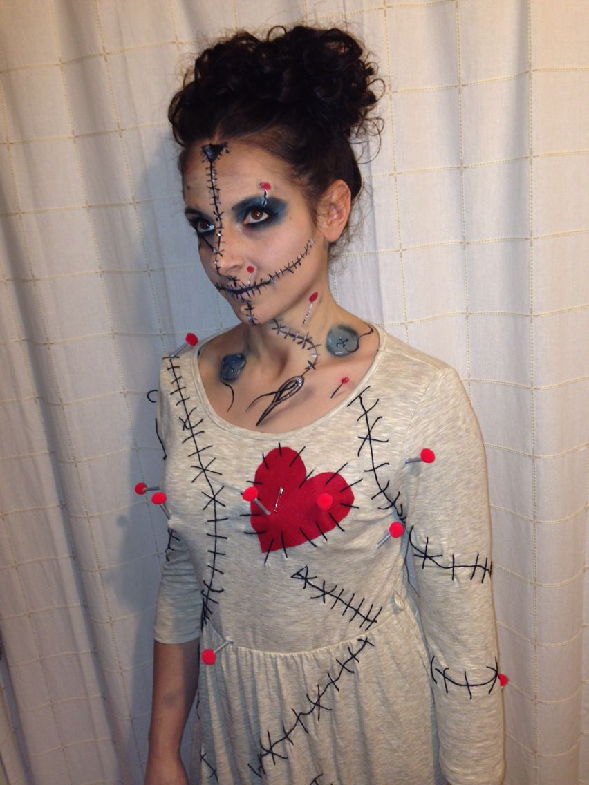 Voodoo doll costume | Halloween | Pinterest | Voodoo dolls ...
