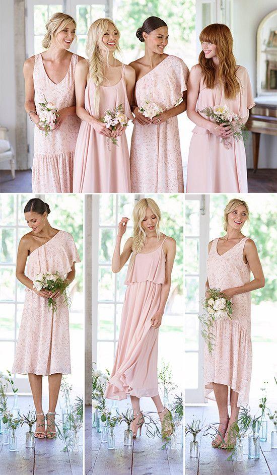 Lauren Conrad Launches New Bridesmaid Dresses From Paper Crown Bridesmaid Dresses Bridesmaid Short Bridesmaid Dresses