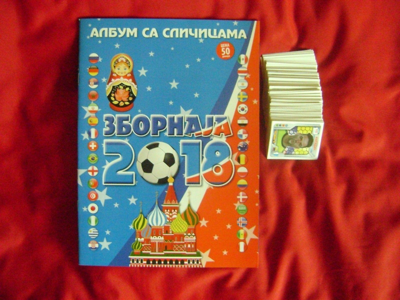 Zbornaja 2018 World Cup Russia Empty Album Full Set 294294